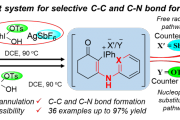 Hypervalent Iodine(III) Mediated Counter Anion Controlled Intramolecular Annulation of Exocyclic-β-Enaminone to Carbazolone and Imidazo[1,2-a]pyridine Synthesis