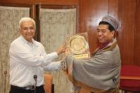 Visit of Sh. Ronald Sapa Tlau, Hon'ble MP, Rajya Sabha (August 14-18, 2015)